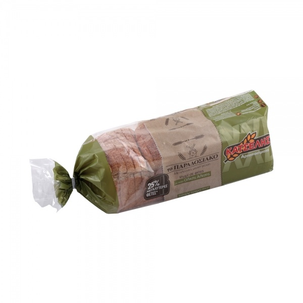 Ψωμί Τόστ Ολικής Άλεσης Κατσέλης 900gr