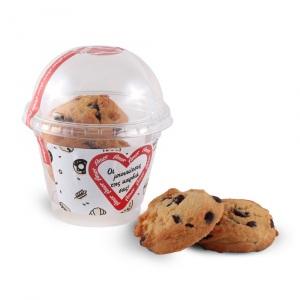 Cookies βανίλιας με κομμάτια σοκολάτας