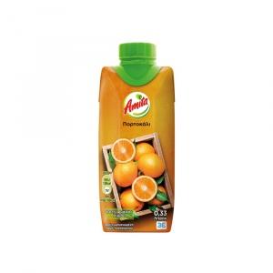 Amita Φυσικός Χυμός Πορτοκάλι 330ml