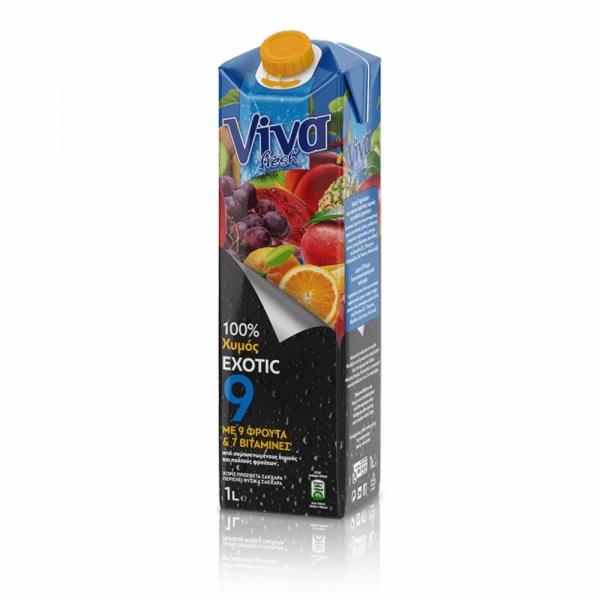 Viva 100% Χυμός Exotic 1lt