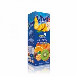 Viva 100% Χυμός Exotic 250ml
