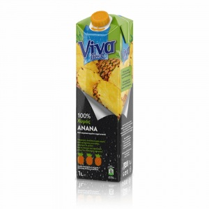 Viva 100% Χυμός Ανανά 1lt